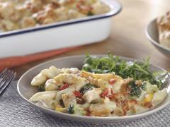 Easy Broccoli & Sweetcorn Pasta Bake