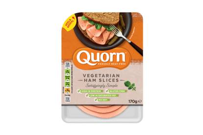 quorn vegetarian deli ham slices