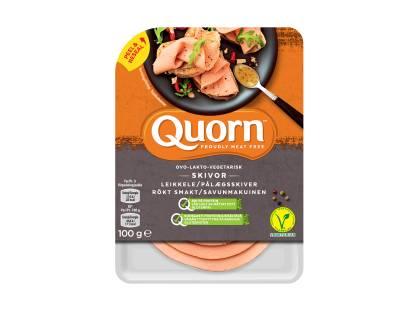 Quorn Ovo-Vegetariska Skivor med Rökt Smak