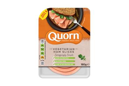 quorn vegetarian deli ham slices