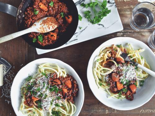 Spaghetti Bolognese -recept