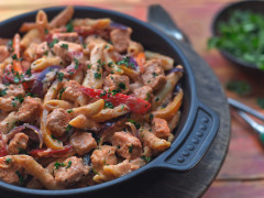 Quick & Easy One-Pot Fajita Pasta