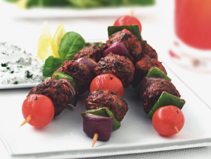 Quorn Meat Free Swedish Style Meatballs Kebabs