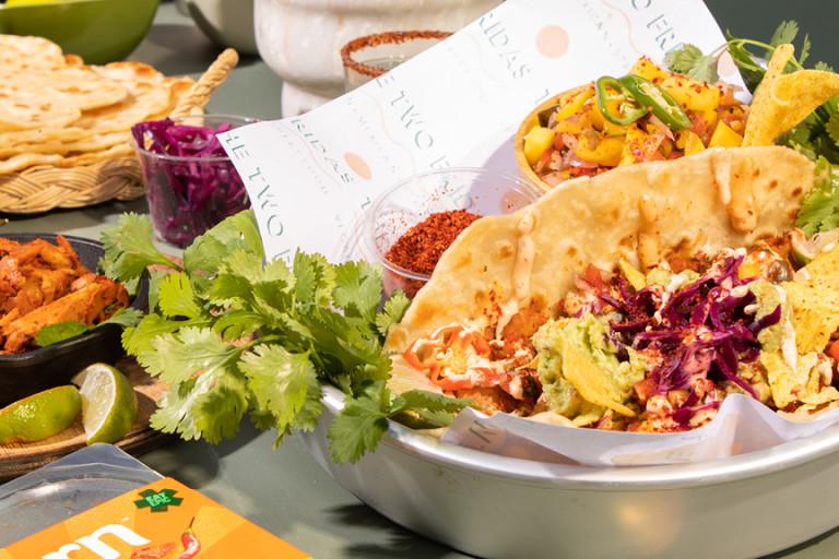 Quorn Makes Amazing Taco-Bab
