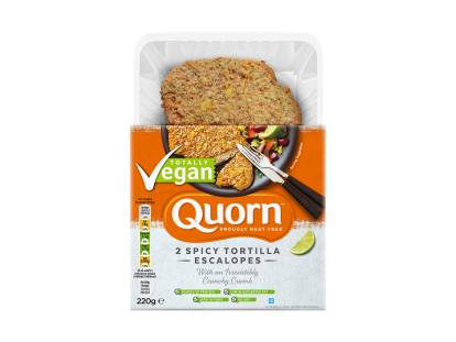 Quorn Vegan Spicy Tortilla Escalopes