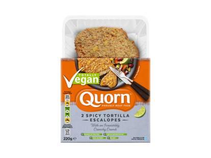 Quorn Vegan Spicy Tortilla Escalopes