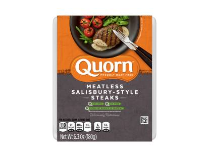 Meatless Salisbury-Style Steaks