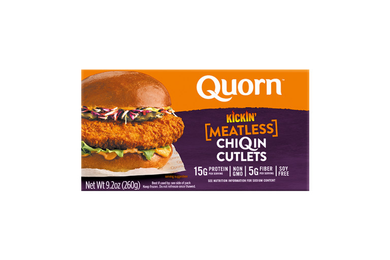 Quorn Meatless Kickin' ChiQin Cutlets