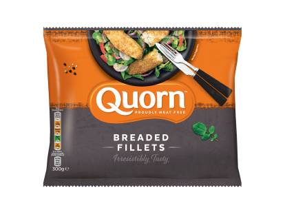 frozen meat free quorn breaded fillets