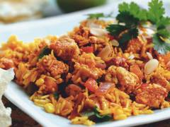 biriyani with quorn pieces vegetarian recipe