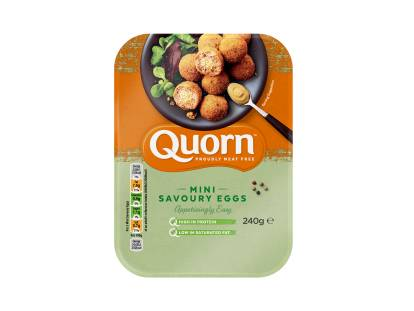 meat free quorn mini savoury eggs