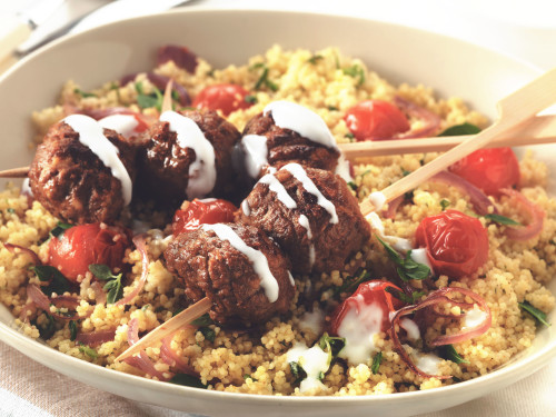 Quorn Meat Free Swedish Style Meatballs with Spicy Couscous