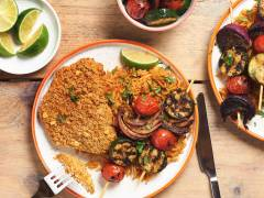 Quorn Spicy Tortilla Escalopes Mexican Veg Kebabs