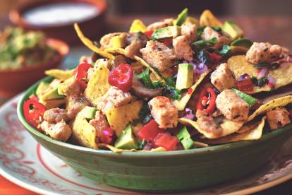 quorn vegan pieces & nachos recipe