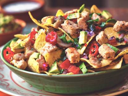 quorn vegan pieces & nachos tex mex recipe