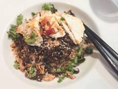 Henriettas vegetariska yakiniku med Quorn Färs