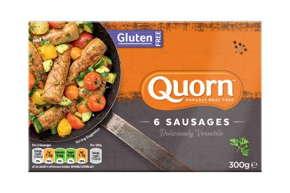 Quorn Vegetarian and Gluten Free Sausages