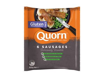 frozen quorn gluten free sausages