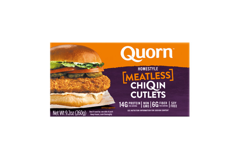 Quorn Meatless Homestyle ChiQin Cutlets