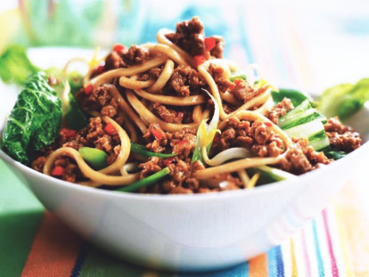 quorn mince singapore noodles vegetarian recipe