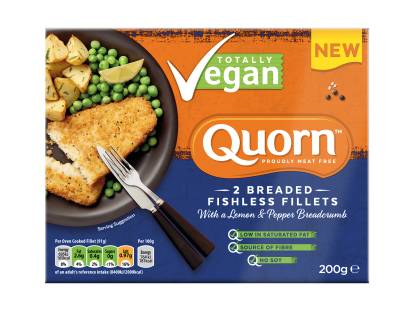 Quorn Breaded Fishless Fillets
