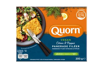 Quorn Vegan Panerade Filéer - Citron & Peppar