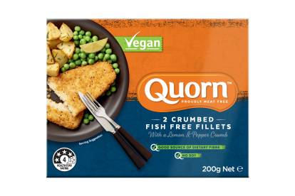 Quorn Vegan Crumbed Fish Free Fillets