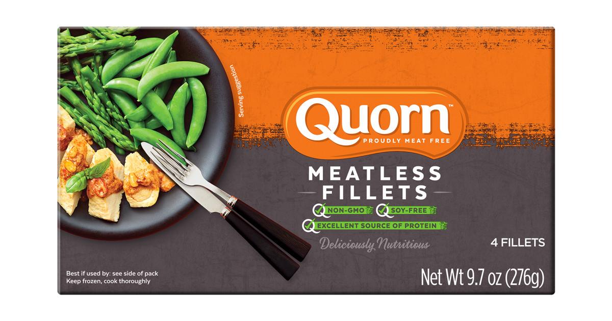 Chicken Cutlets Vegetarian Meatless Quorn Us