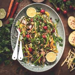 Easy Thai Salad With Quorn Mince