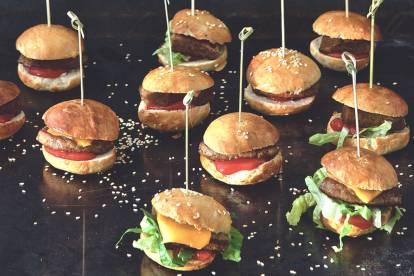 Barnens Vegetariska Miniburgare