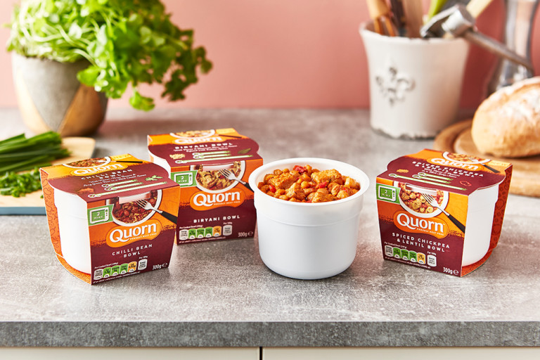 Discover Quorn Lunch Bowls