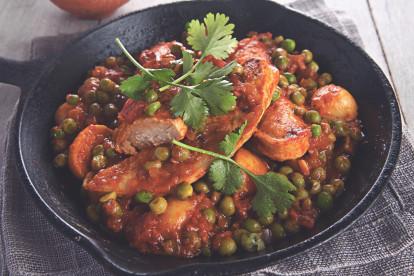 Vegetarisk Durban Curry -recept