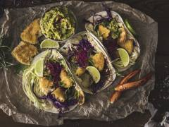 Vegansk variant av Fish Tacos med Quorn