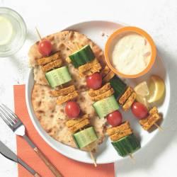 Quorn Tikka Strip Lunch Skewers
