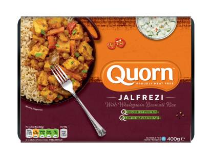 quorn vegetable jalfrezi ready meal