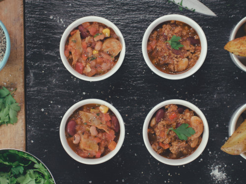 Quorn Meat Free Mexican Sausage and Bean Chilli