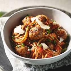 Spaghetti and Quorn Swedish Style Balls