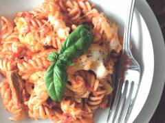 quorn vegetarian steak strips pasta bake recipe