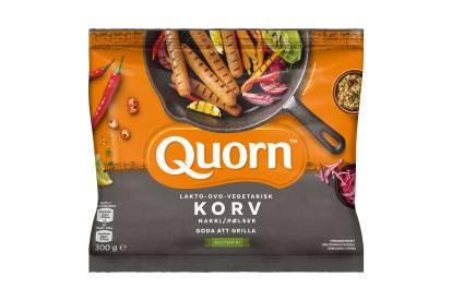 Quorn Lakto-ovo-vegetarisk korv