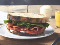 BLT Sandwich with Quorn Vegetarian Bacon Slices