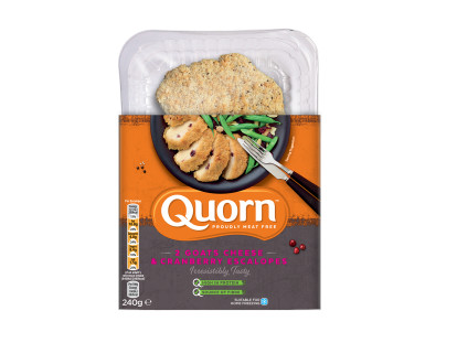 Quorn Goats Cheese & Cranberry Escalope