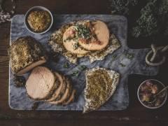 Vegetarisk julskinka med Quorn