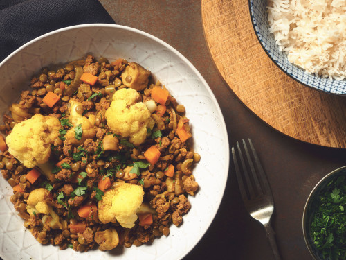 Quorn Mince & Vegetable Curry