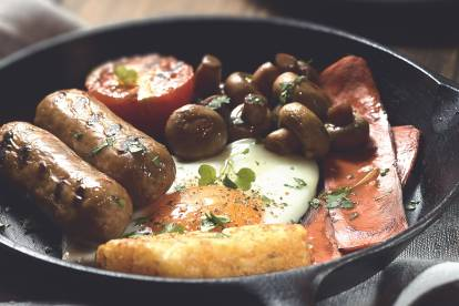 quorn english breakfast vegetarian recipe