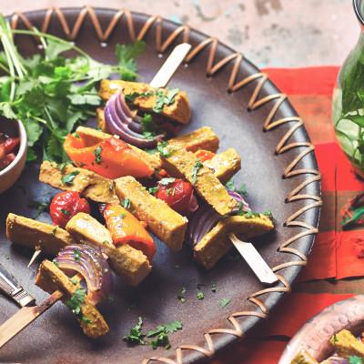 Quorn Meat Free Vegan Fillets Kebab Skewers