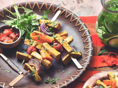 quorn vegan fillets kebab skewers recipe