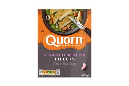 Quorn Garlic & Herb Fillets