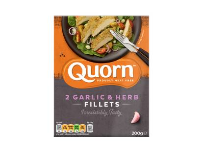 Quorn Garlic & Herb Fillets