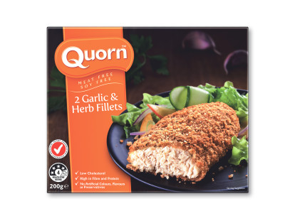 Quorn Garlic and Herb Fillets