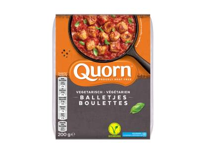 meat free quorn frozen swedish style balls